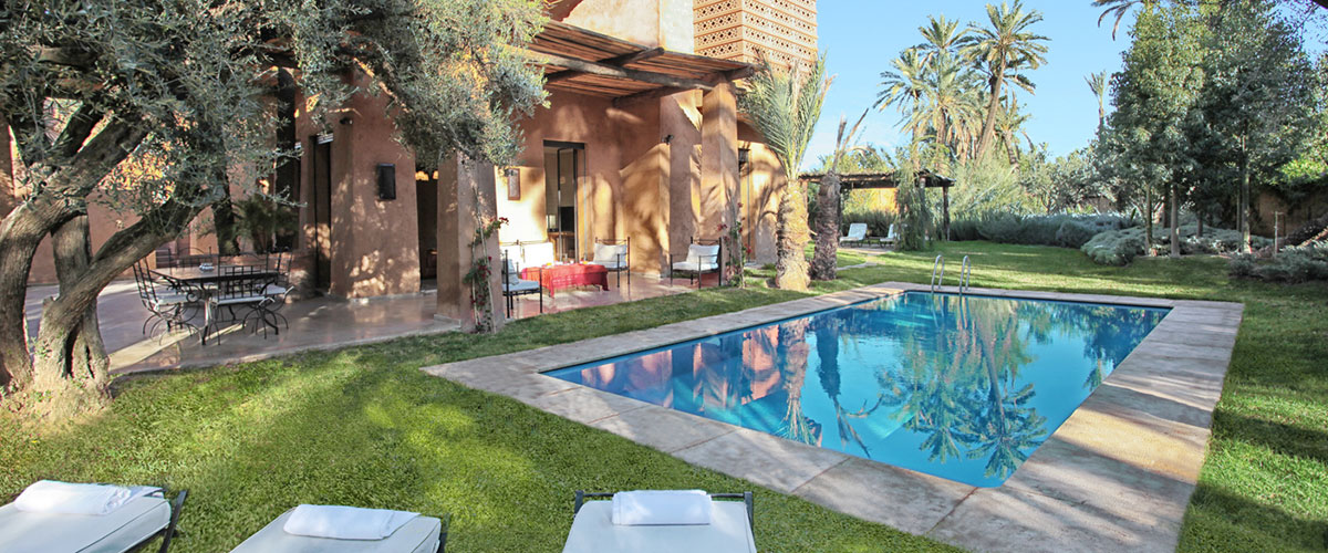 Location villa marrakech pas cher for Location villa marrakech avec piscine privee